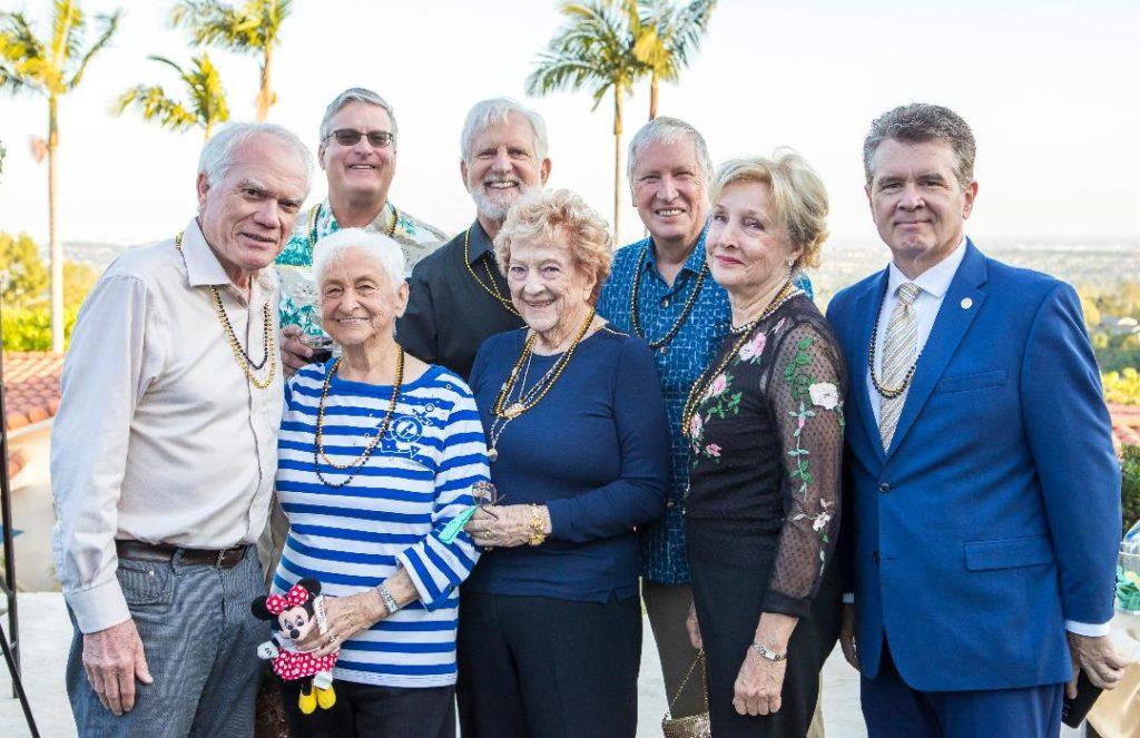 Former Mayors of La Habra Heights front row Stan Carroll, Claire Spothelfer, Jean Lietzau, Carol Englehardt, Kyle Miller, back row- Layne Baroldi, Michael Higgins & Brian Bergman