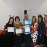 Laurel & Tony Martinez along with board members Carmen Miller, Carrie Surich, Amy Perez and Pam McVicar